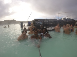 Making Friends in the Blue Lagoon