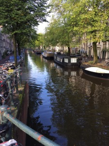 Amsterdam is so lovely!