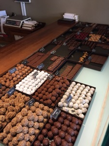 Mmmm...chocolat!