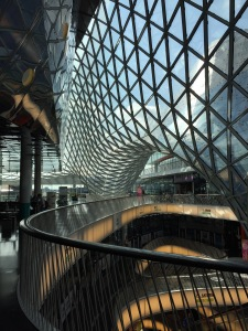 Even the malls are meticulously designed! This one has the longest escalator in Europe