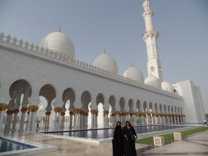 From the outside of the Mosque