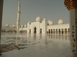Sheik Zayed Mosque in Adu Dhabi